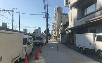 街並み8(高架線沿い)