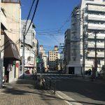 恵美須町(通天閣)の街並み