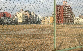 JR新今宮駅北側の星野リゾート建築予定地