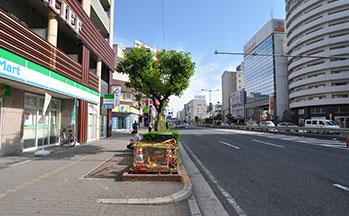 街並み3(国道25号線)