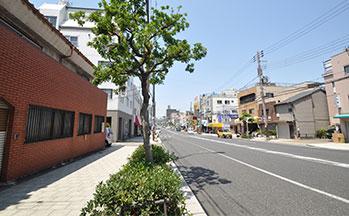 街並み(松屋町筋)