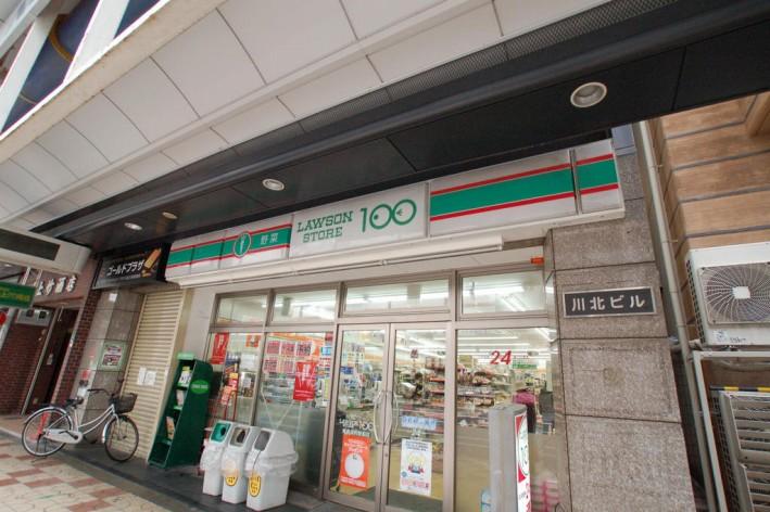 ローソンストア100恵美須町駅前店