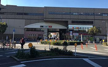 天下茶屋駅(東側)