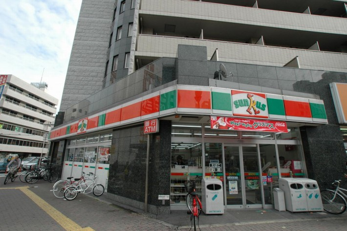 サンクス大国町駅前店